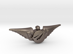 Big Imagination First Class Wings in Stainless Steel