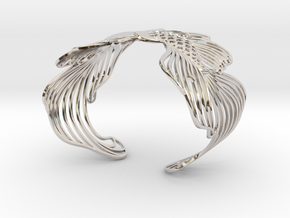 Pisces 16cm Bracelet (small) in Rhodium Plated