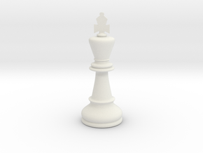 King (Chess) in White Strong & Flexible