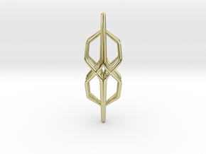 """A Line"" HONEYFIED, pendant in 18K Gold Plated"