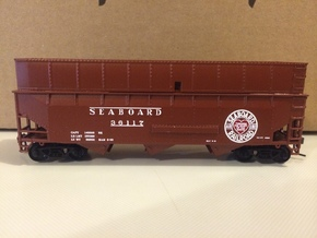 HO SAL 3-bay hopper extension in Frosted Ultra Detail