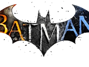 Batman Arkham Name Plate in White Strong & Flexible