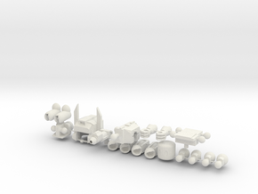 Fort Max Minifig in White Strong & Flexible