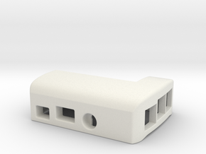 Raspberry B+ Top Case, with a Boxed Header in White Strong & Flexible