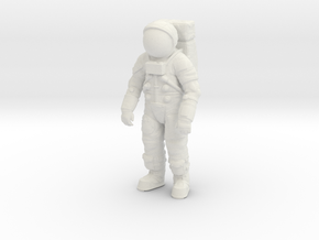 Apollo 11 / Astronaut / Generic Position / 1:24 in White Strong & Flexible
