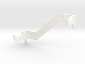 DL44 Wall Stand 2 in White Strong & Flexible Polished