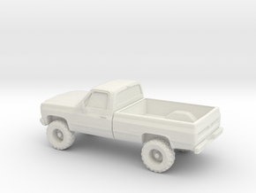 1/87 1979 Chevy C/K Series in White Strong & Flexible