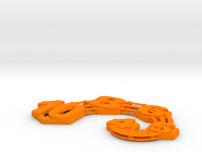 Squeak in Orange Strong & Flexible Polished
