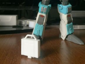 idw briefcase style 'b' for Brainstorm in White Strong & Flexible