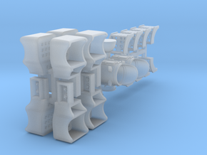 Steam Loco Combo Pack - HO in Frosted Ultra Detail