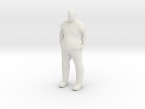 Big Guy 1/20 scale in White Strong & Flexible