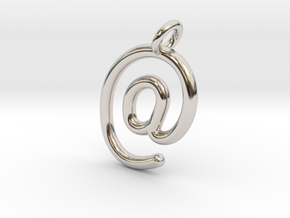 @ in Rhodium Plated