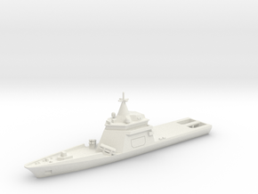 1:700 Gowind OPV w/Exocet in White Strong & Flexible