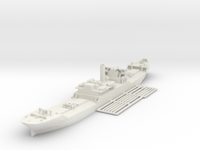 1/600 EFC 1013 WW1 freighter in White Strong & Flexible