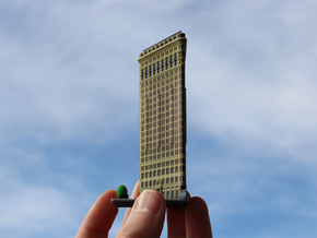 Flatiron Building New York 4 x 4 in Full Color Sandstone