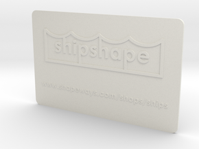 Welcome to shipshape in White Strong & Flexible