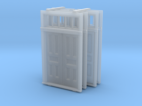 S Scale Elmira Booking Station Door Set in Frosted Ultra Detail