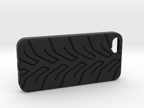 iPhone 5 case A048 tread in Black Strong & Flexible