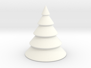 Christmas Tree in White Strong & Flexible Polished