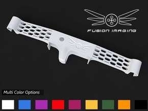Flytrex Live / Live 3G Mount for DJI Phantom (V3) in White Strong & Flexible Polished