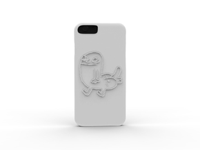 Dickbutt iPhone 6 Case in White Strong & Flexible Polished