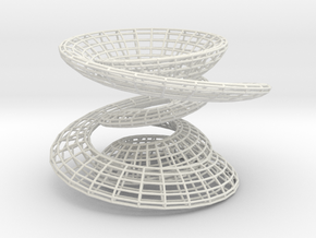 Shapeways in White Strong & Flexible