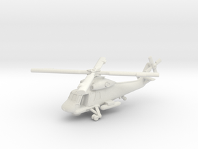Kaman UH2 Seasprite (with landing gear) 1/285 6mm in White Strong & Flexible