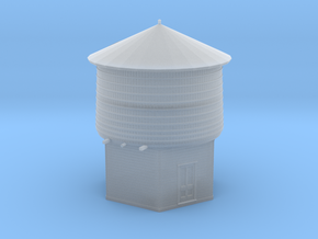N Scale PEIR 25K Gal Water Tower Assembled in Frosted Ultra Detail