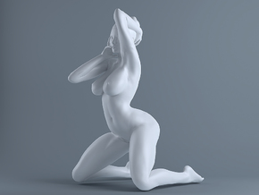 Sexy Girl-016  scale 1/16 Passed in White Strong & Flexible Polished
