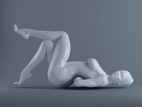 Sexy Girl-013  scale 1/16 Passed in White Strong & Flexible Polished