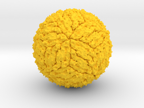 Dengue Virus - 1 Million X in Yellow Strong & Flexible Polished