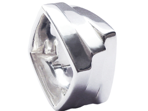 TER in Polished Silver