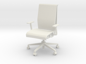 """Steelcase Think Chair 4"""" in White Strong & Flexible"""
