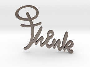Think Cross in Stainless Steel