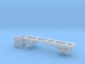 1/87th Single axle frame, suitable for KW CBE in Frosted Ultra Detail