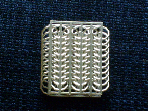 European 8 in 1 Chainmail Sample in Raw Silver