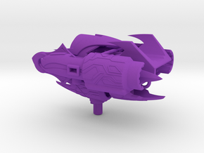 TFP Powerizer Megatron's fusion cannon (dark energ in Purple Strong & Flexible Polished