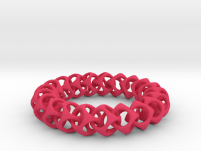 HS Bracelet in Pink Strong & Flexible Polished