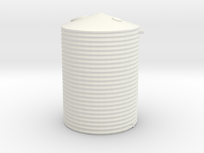 Victorian Railways 600 Gallon Water tank  HO in White Strong & Flexible