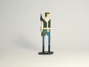 The Pixel Scoundrel in Full Color Sandstone