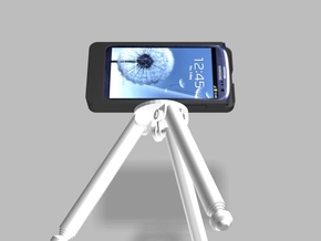 Samsung S3 5000mah Charger Tripod Camera Mount wit in White Strong & Flexible Polished