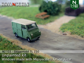 Goggomobil Transporter (N 1:160) in Frosted Ultra Detail