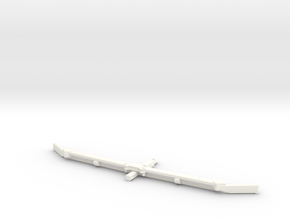 1/64 Alley scraper Blade 12' in White Strong & Flexible Polished
