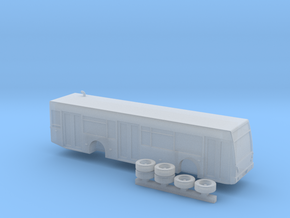1:160 N Scale Van Hool A330  in Frosted Ultra Detail