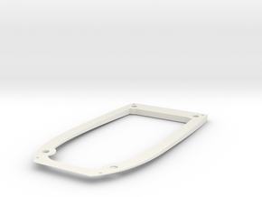 Ranger EX Wing Angle Spacer Bottom Plate in White Strong & Flexible