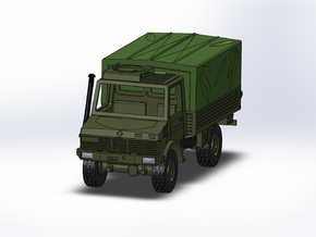 MB Unimog U1300 Militär 1:160 in Frosted Ultra Detail