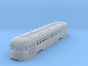 HO MUNI Double-End PCC Trolley Body in Frosted Ultra Detail