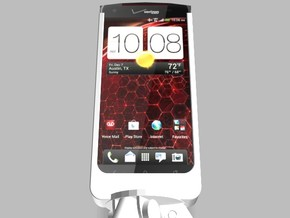 HTC Droid DNA 5000mah Charger Tripod Mount with US in White Strong & Flexible