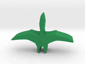 Dino Meeple, Pterosaur in Green Strong & Flexible Polished