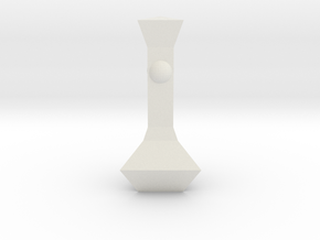 Chess Pawn Queen in White Strong & Flexible